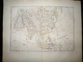 Asia, Malaya, Phillipines, etc: 1794 Antique Map. Dunn, Laurie & Whittle